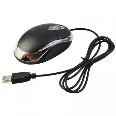 USB Optical Scroll Wheel 3D Mouse for PC Laptop